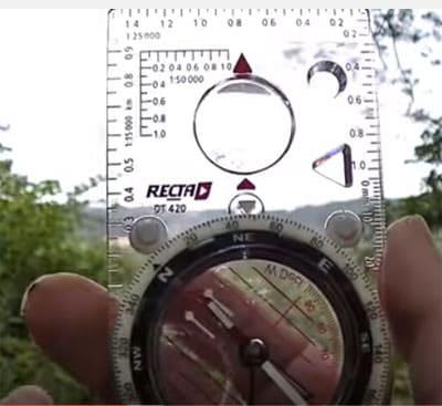 Kompass verwenden