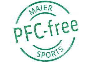 Maier Sports will bis 2020 PFC-frei herstellen. Seit 2014 gibt es bereits PFC-freie Jacken!