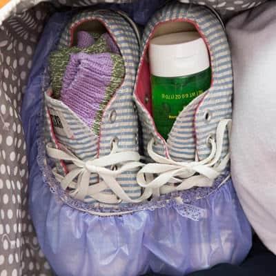 SchuheDuschhaube