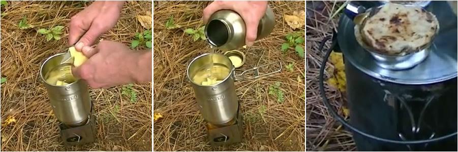 Camping Snacks - Der schnelle Apfelkuchen