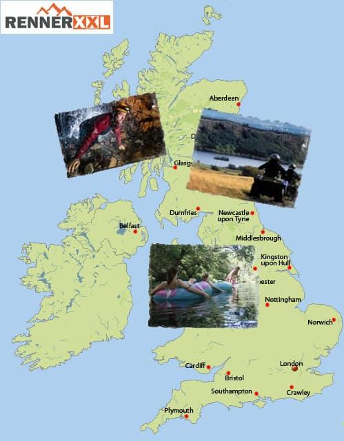 Outdoor Großbritannien