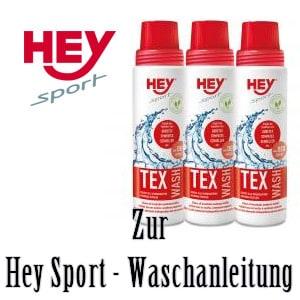 Hey Sport Waschanleitung