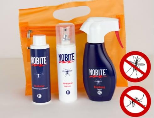 Nobite Hautspray und Textil Mittel