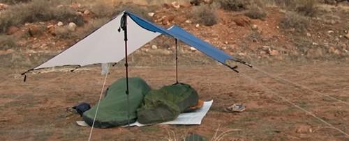 Tarps statt Zelt - eine gute Alternative mit minimalem Gewicht