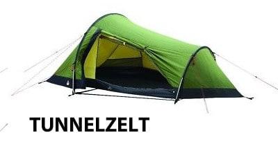 Leichtzelt als Tunnelzelt Variante - hier das Robens Zelt Challenger für 2 Personen