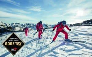 Gore-Tex Membranen sorgen bei aktiven Sportarten wie Langlauf, Outdoor, Trekking oder Nordic Skiing für optimale Performance