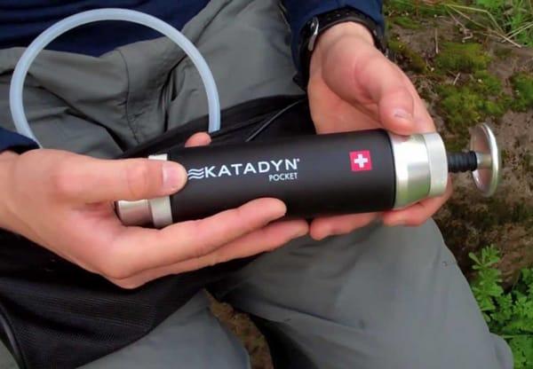 Katadyn Pocket - Klassiker unter den Wasseraufbereitern