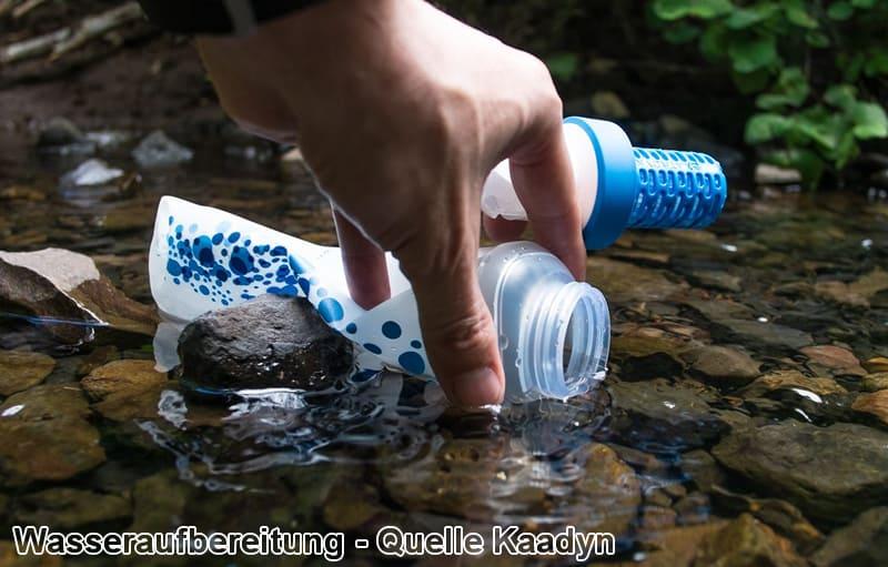 Wasseraufbereitung Fluss Outdoor
