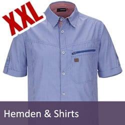 XXL Hemden und Shirts Übergröße
