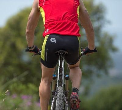 Image hybrid bicycle pant