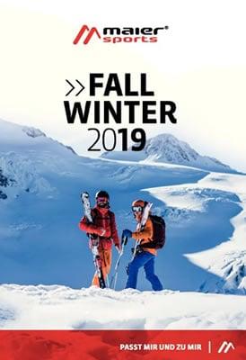 Maier Sports Skibekleidung Katalog 2019/2020