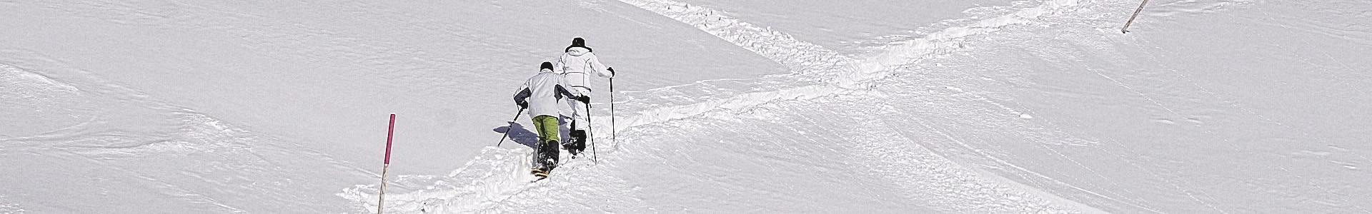 Bergauf Schneeschuhwandern