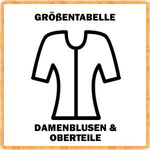 Damen Blusen und Oberteile Größen - Link
