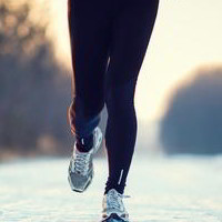 Running im Winter