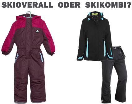 Skikombi oder Skianzug?