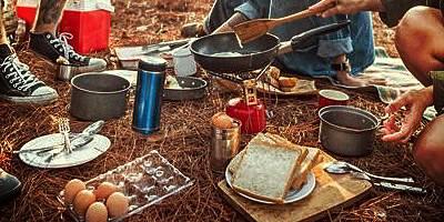 Checkliste Essen und Trinken beim Camping