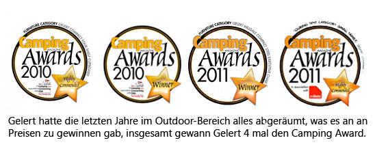 gelert award camping