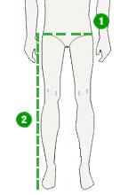 deproc maßtabelle hosen herren kurzgröße