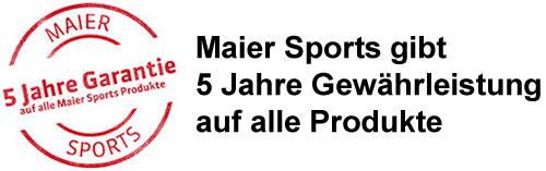 Garantie Maier Sports