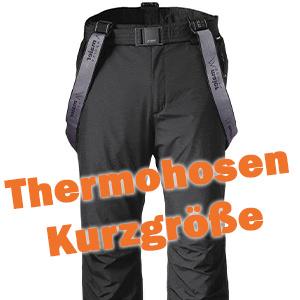 Kurzgröße Thermohose