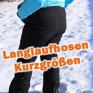 Langgrößen Langlaufhose