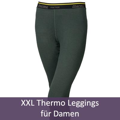 XXL Thermo-Leggins für Damen