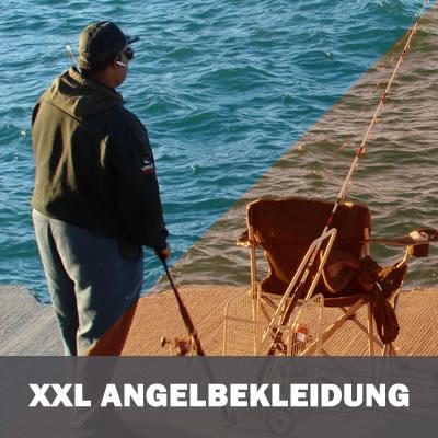 XXL Angelbekleidung - Angel-Hosen und Jacken für Damen und Herren