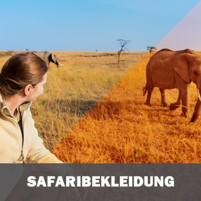 Safari Bekleidung Plus-Size