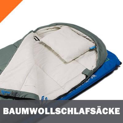 Baumwollschlafsäcke und Inlets