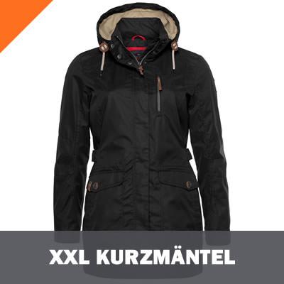 XXL Damen Kurzmäntel