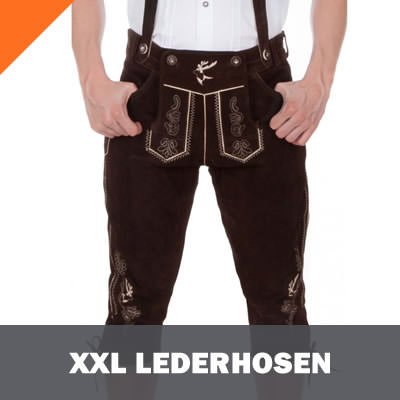 XXL Lederhosen in Plus-Size