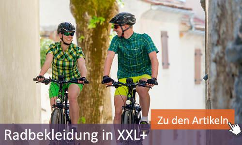 fahrradbekleidung übergrö�e