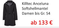 Killtec anceluna softshell damen in �bergr��en