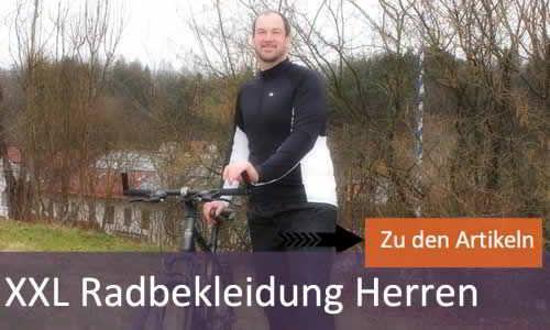 XXL Herren Radbekleidung