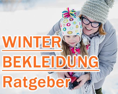 Ratgeber für Winterbekleidung