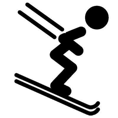Wintersport und Skifahren