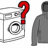 Wie Softshell waschen?