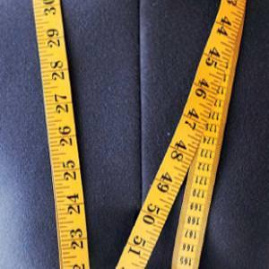 Seitenlänge der Hose messen