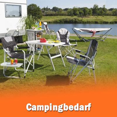Bedarf für Camping