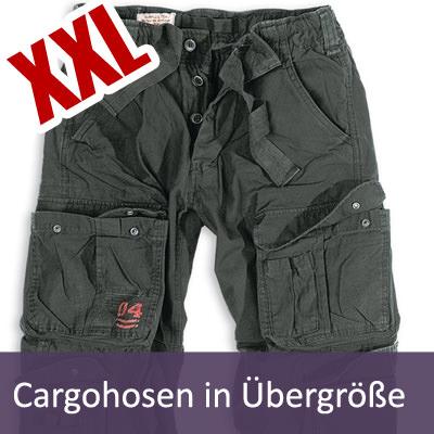 XXL Cargohosen in Übergrößen | Damen und Herren