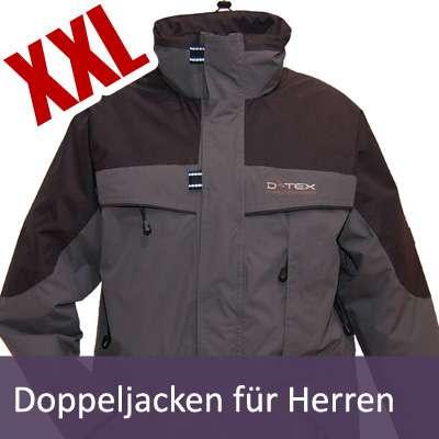 XXL Herren Doppeljacken | Gr. XXL - 8XL