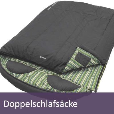Leichte Doppelschlafsäcke für 2 Personen