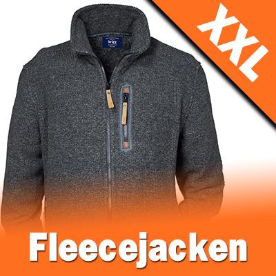 Fleece Jacken in Übergrößen