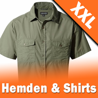 XXL Outdoor Hemden und Shirts