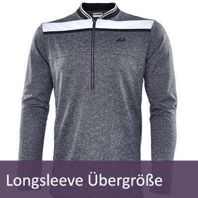 XXL Longsleeve Langarm-Shirts für Damen und Herren