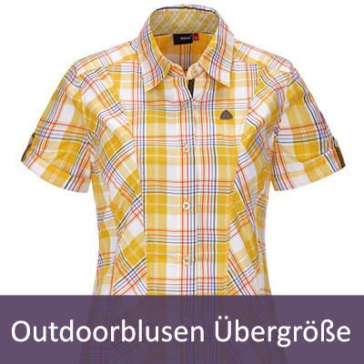 XXL Damen Outdoor Blusen | Große Größen