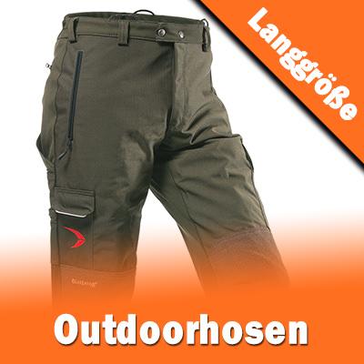 Outdoor Hosen in extra langen Größen