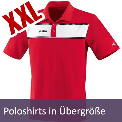 Poloshirts Übergröße