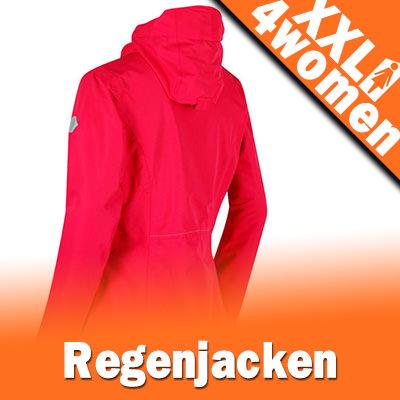 XXL Damen Regenjacken | Gr. 48 - 50 - 52 - 54