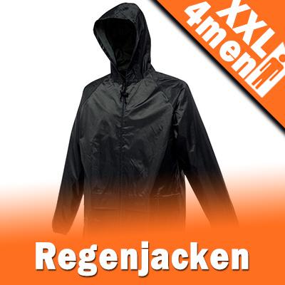 XXL Herren Regenjacken in Übergrößen XXL - 8XL